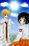Misaki and Usui children