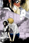 Usui and Misaki in the kitchen