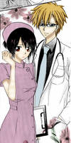Doctor and nurse Kaichouwamaidsama
