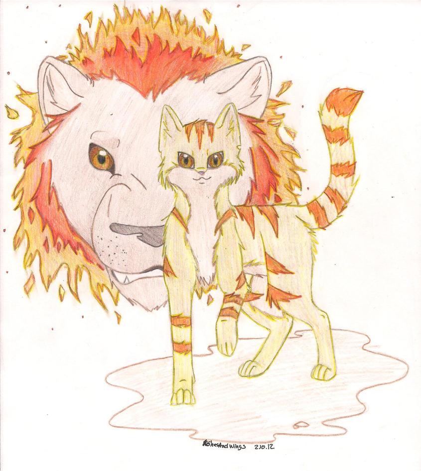 WarriorCats: Lionblaze By AshesAndWings On DeviantArt