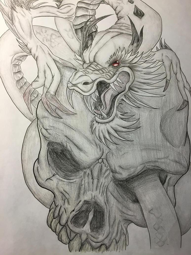 Day 2 dragon done by Hazard-dragon
