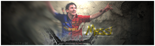 Messi by 3soom96