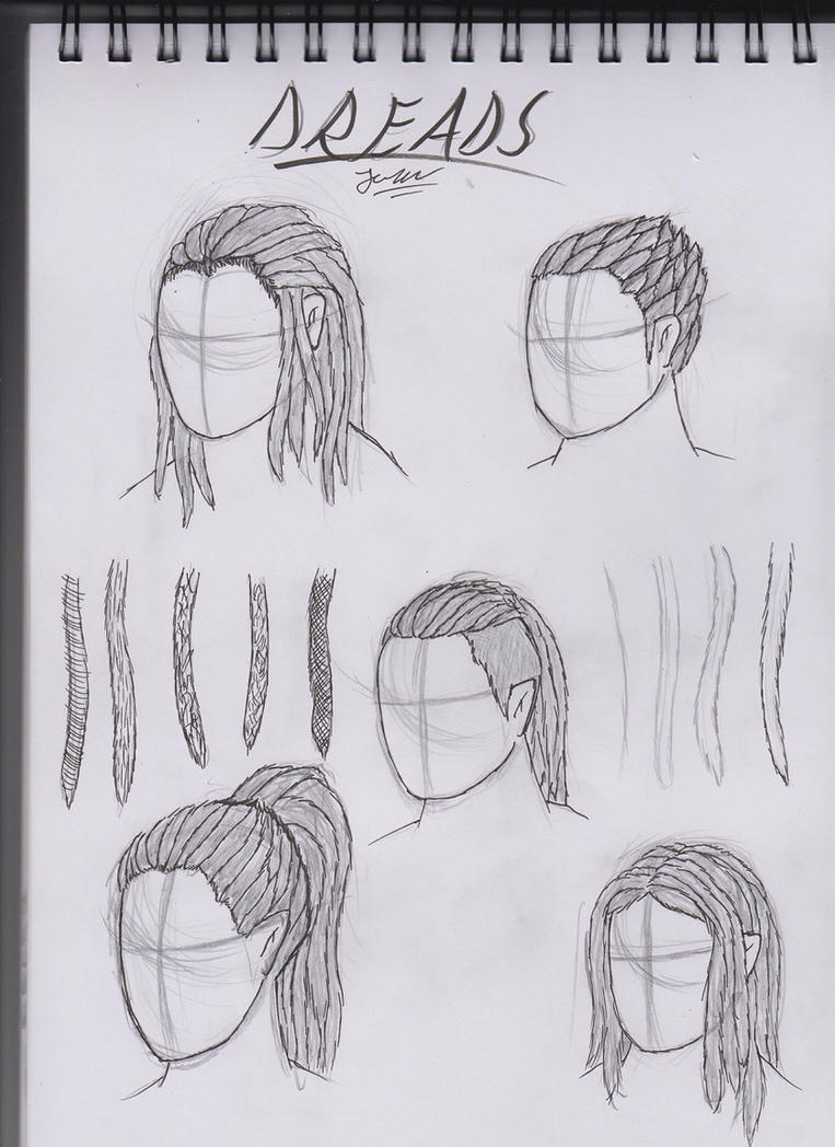 Dreadlocks tutorial by Mossrygg