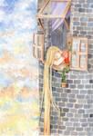 Rapunzel-The sunset