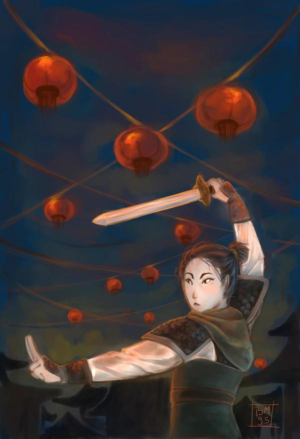 Fa Mulan by Blue-Milk95