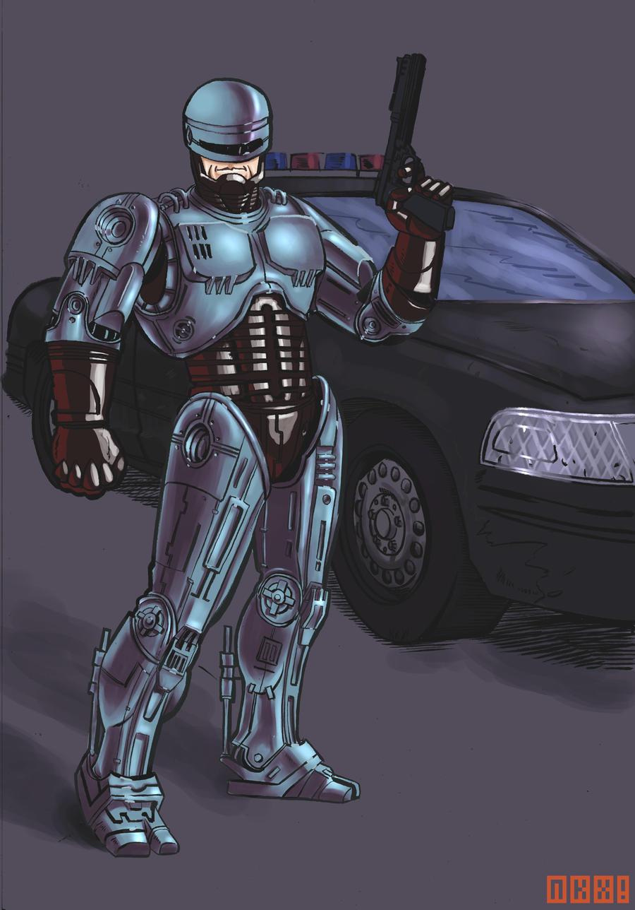 Robocop by nockiman on DeviantArt