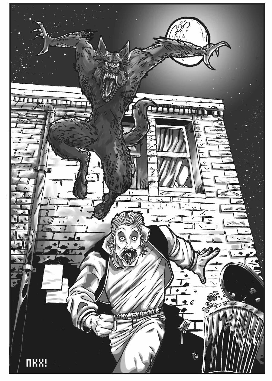 Werewolf by nockiman
