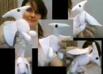 Pterodactyl Plushie by Lizu-chan
