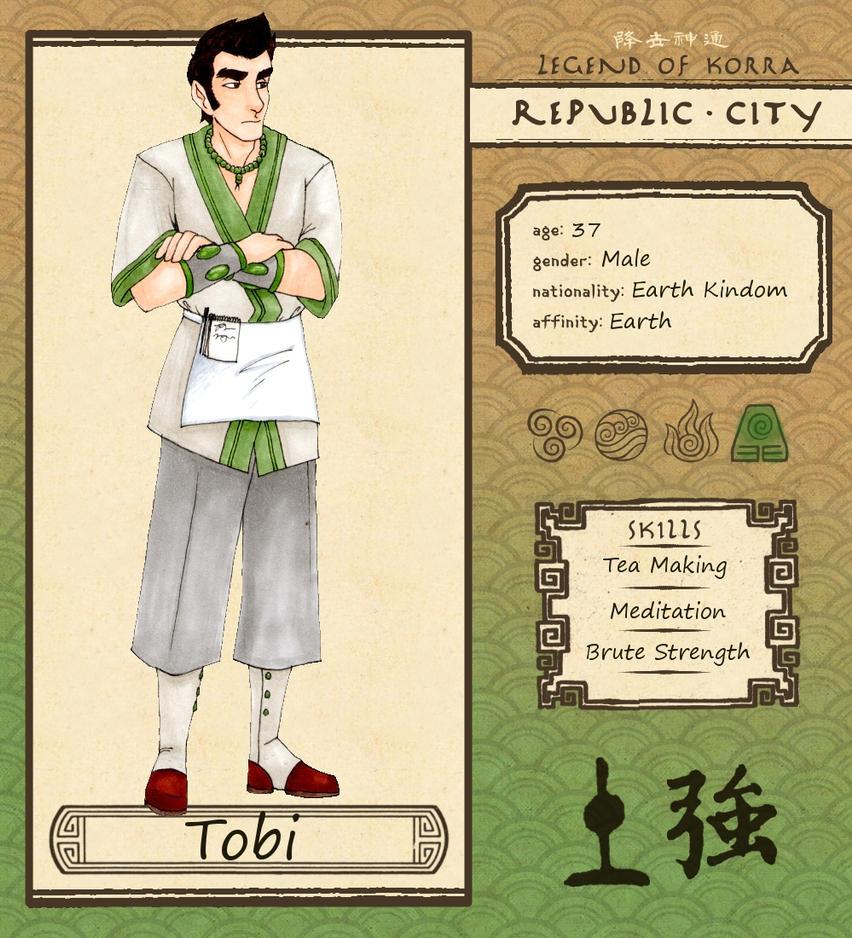 Tobi - Republic City by Lizu-chan