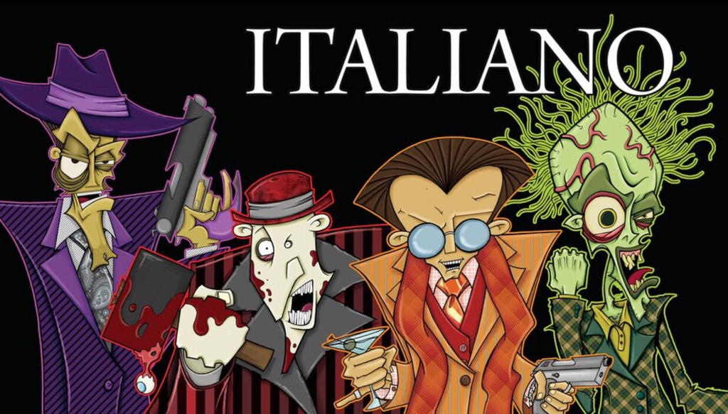 Italiano 2017  by MikeBloomDraws