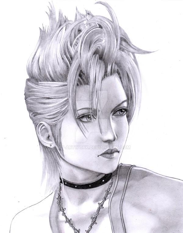 Final Fantasy X2 Paine FANART by MT-Artwork