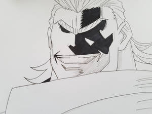 My hero Academia All Might WIP