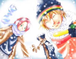 Naruto - winter by panchan77