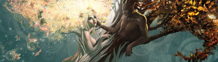 The lovers by Skullsong