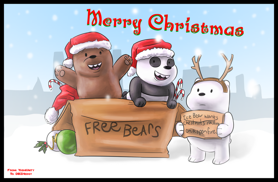 we bare bears christmas wallpaper - photo #26