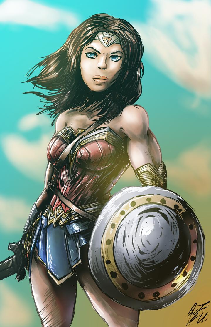 Wonder Woman by YoshiUnity