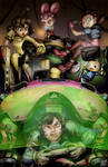 Mech Pliot Game Night at the Scrapyard. by YoshiUnity