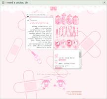 pastel-pink gurokawa medic . custom box code (f2u)