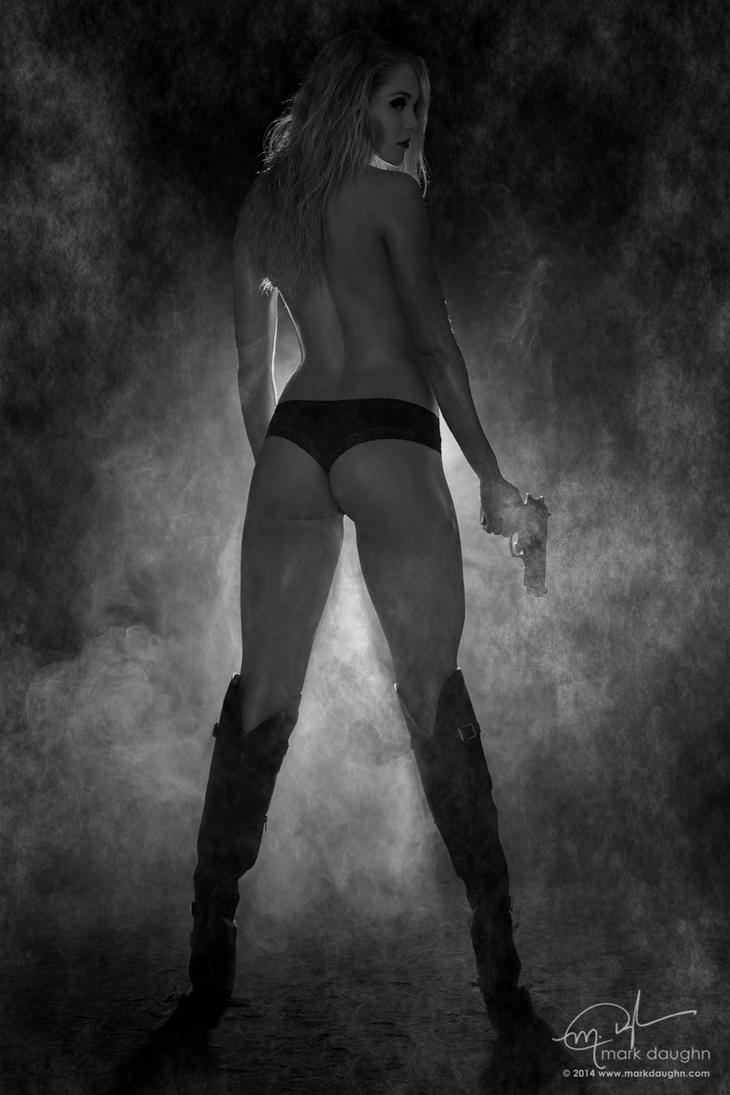 Courtney Smoke-4 by markdaughn