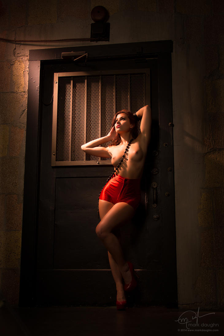stephy C Red by markdaughn