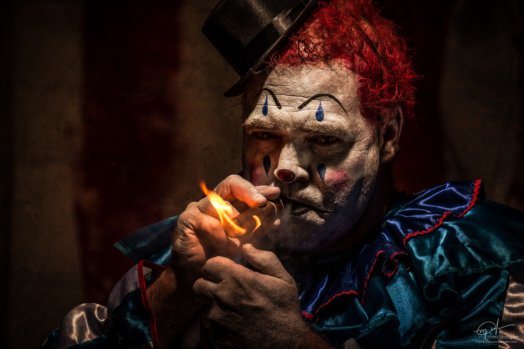 The Clown Project #4 by markdaughn