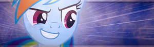 Rainbow Dash with Awesome Face Sig