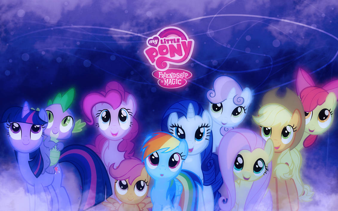 My Little Pony Wallpaper Remade By Sandwichhorsearchive On