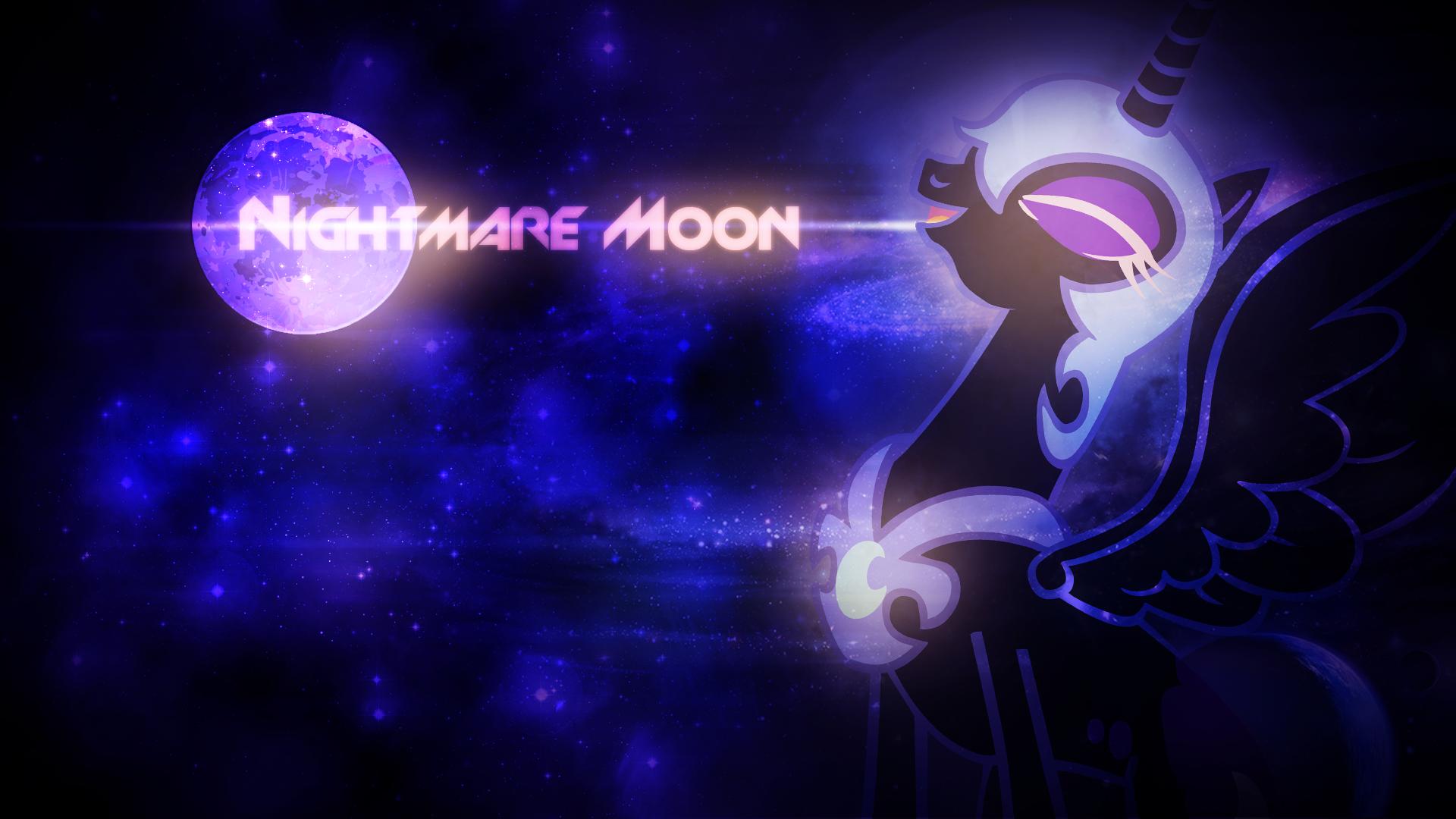 Nightmare Moon Wallpaper by SandwichHorseArchive