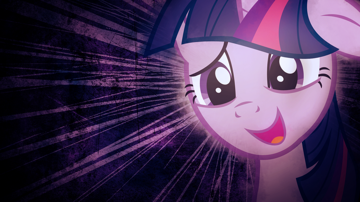 Twilight Sparkle Nerdorable Wallpaper by SandwichDelta