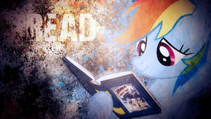 A message from Rainbow Dash