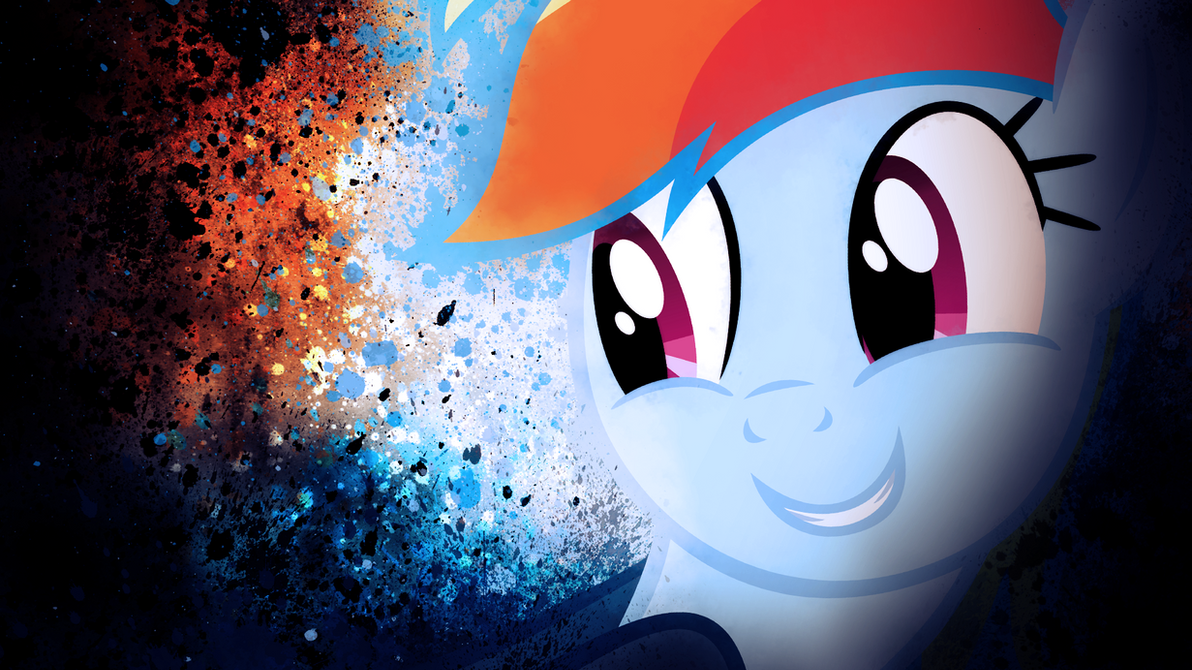 Rainbow Dash Smile by SandwichDelta