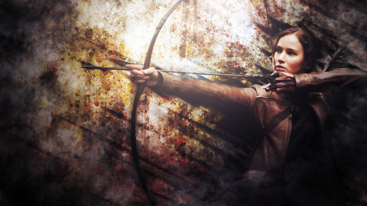 Katniss Everdeen by SandwichDelta