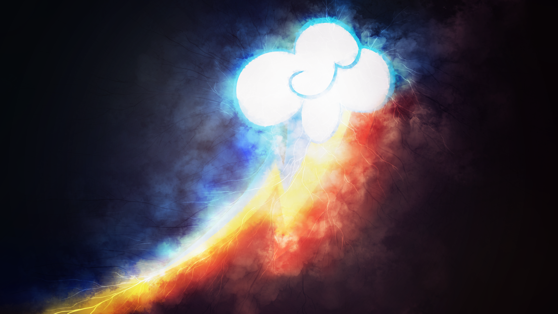 Rainbow Storm by SandwichDelta