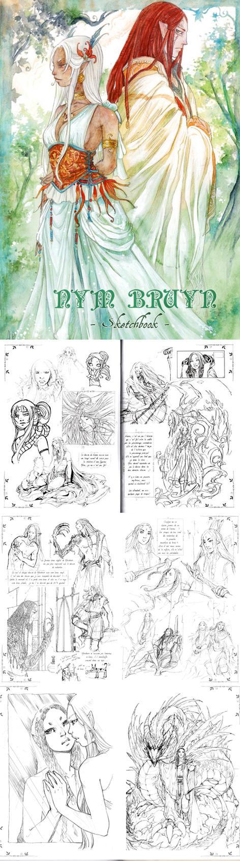 Nym-Bruyn- Sketchbook V2 by Alice-Bobbaji