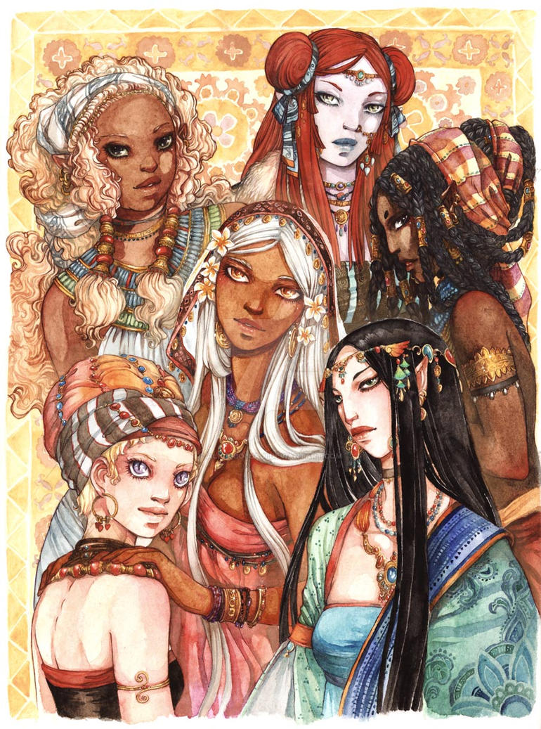 Weena contest prize print 1 by Alice-Bobbaji