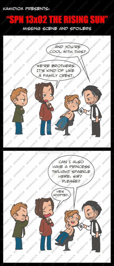 SPN 13X02 MISSING SCENE AND SPOILERS by KamiDiox