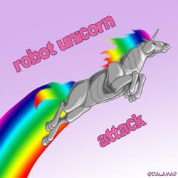 Robot Unicorn by Dalamar89