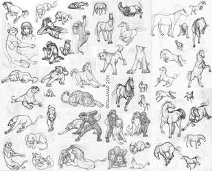 OMG doodles Part 3 by Dalamar89