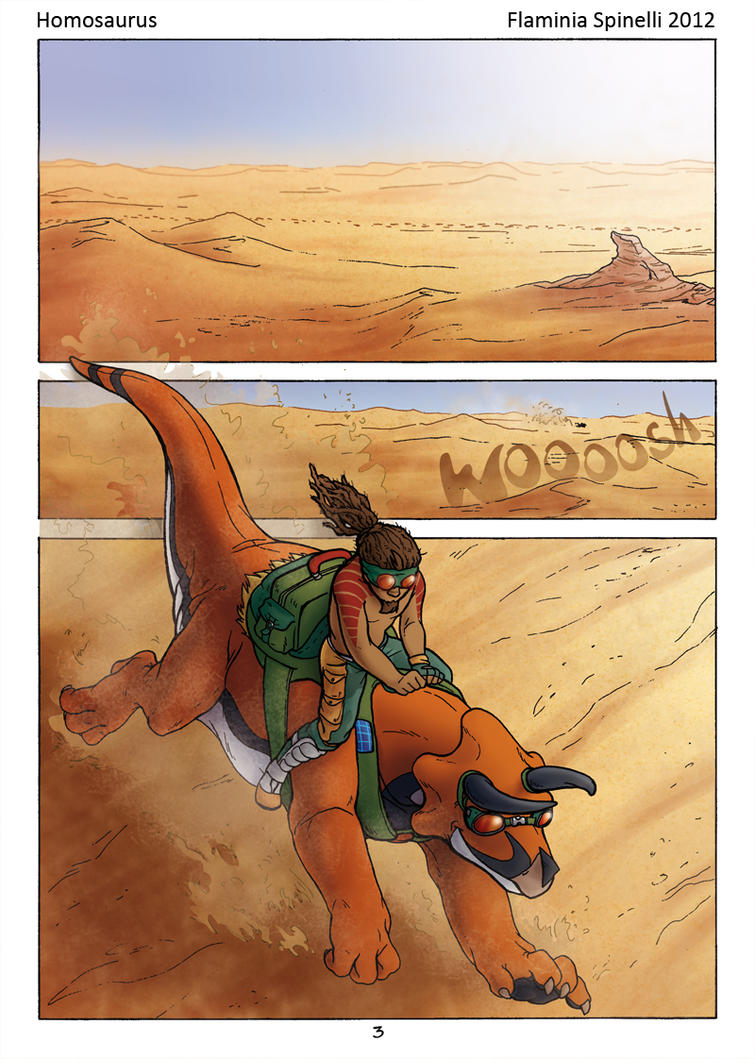 Homosaurus 1 by Dalamar89