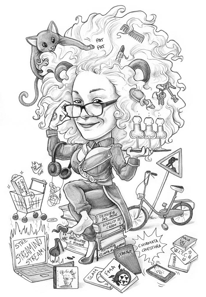 Caricature 95 by Dalamar89