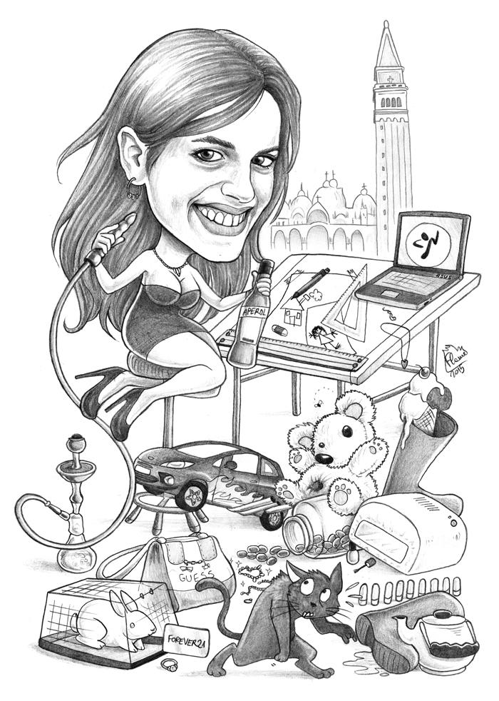Caricature 96 by Dalamar89