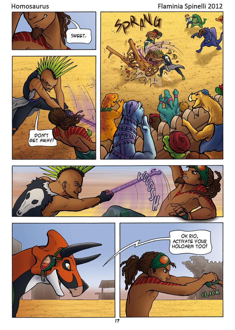 Homosaurus 15 by Dalamar89