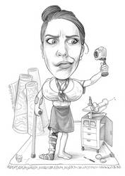 Caricature 107 by Dalamar89