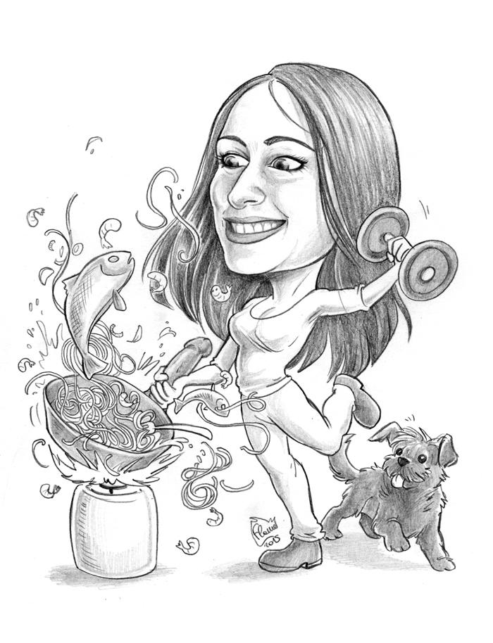 Caricature 117 by Dalamar89
