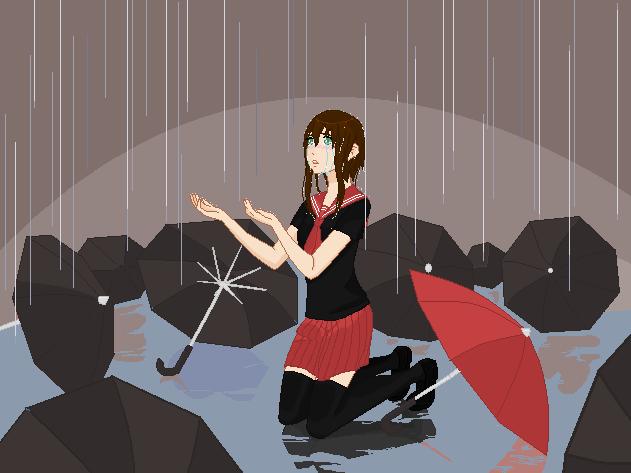 Rain by Cc-SakuraAvalon-cC