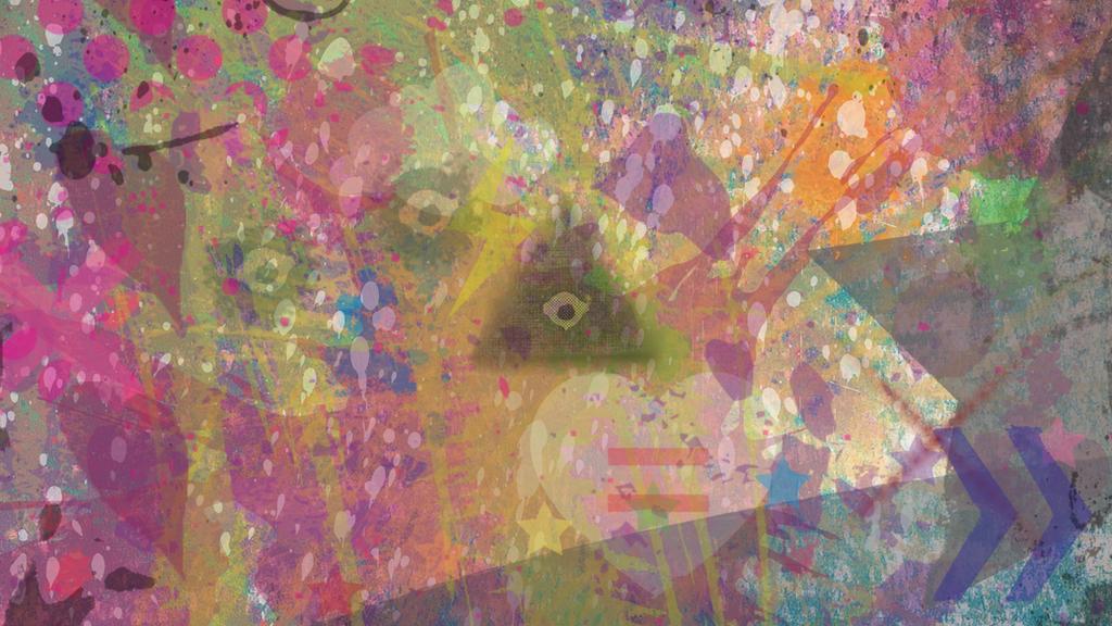 Eccentric wallpaper by Cc-SakuraAvalon-cC