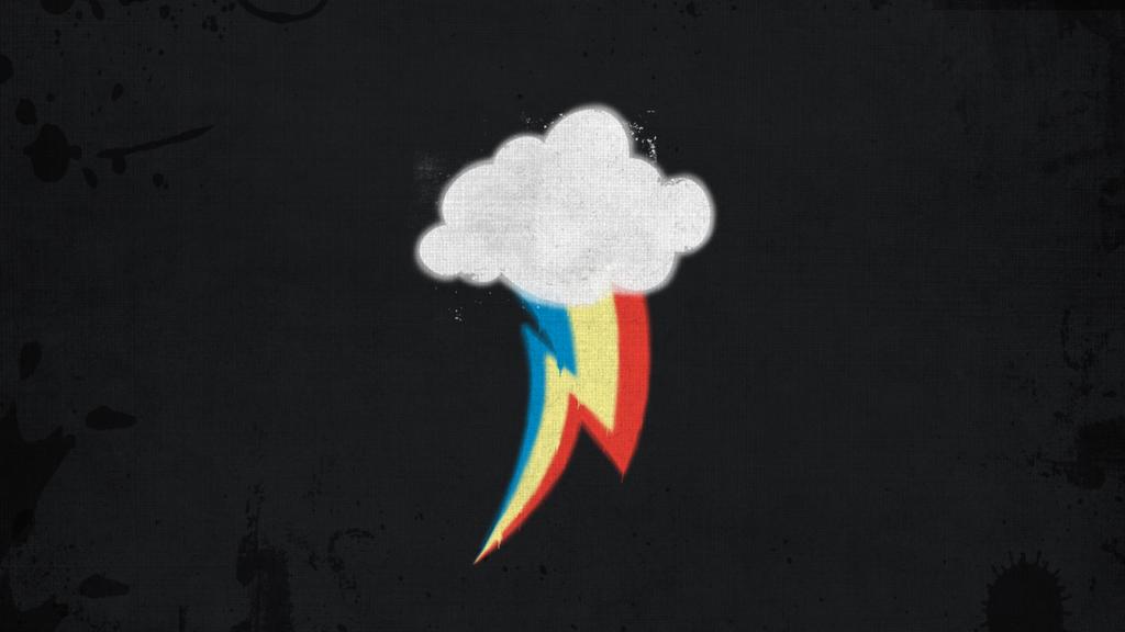 Rainbow Dash Cutie Mark Wallpaper by Cc-SakuraAvalon-cC