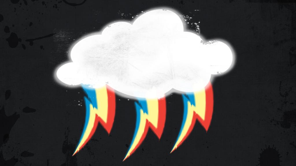 Rainbow Storm Wallpaper by Cc-SakuraAvalon-cC