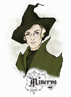 Young Minerva Mcgonagall by omarcain
