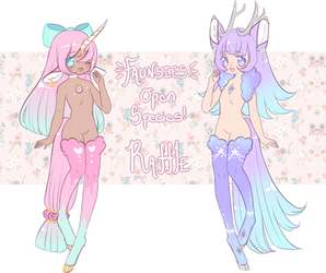 Open species release raffle:: Faunsies! CLOSED by SynthBabe